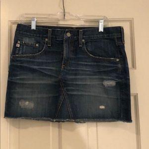 AG Denim Skirt